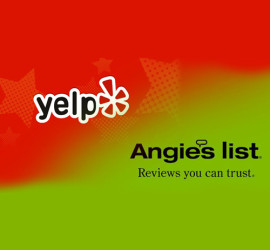 yelp angies list